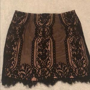 Dresses & Skirts - Lace mini skirt